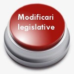 Modificari legislative
