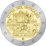 2 euro zidul Berlinului