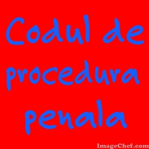 cod de procedura